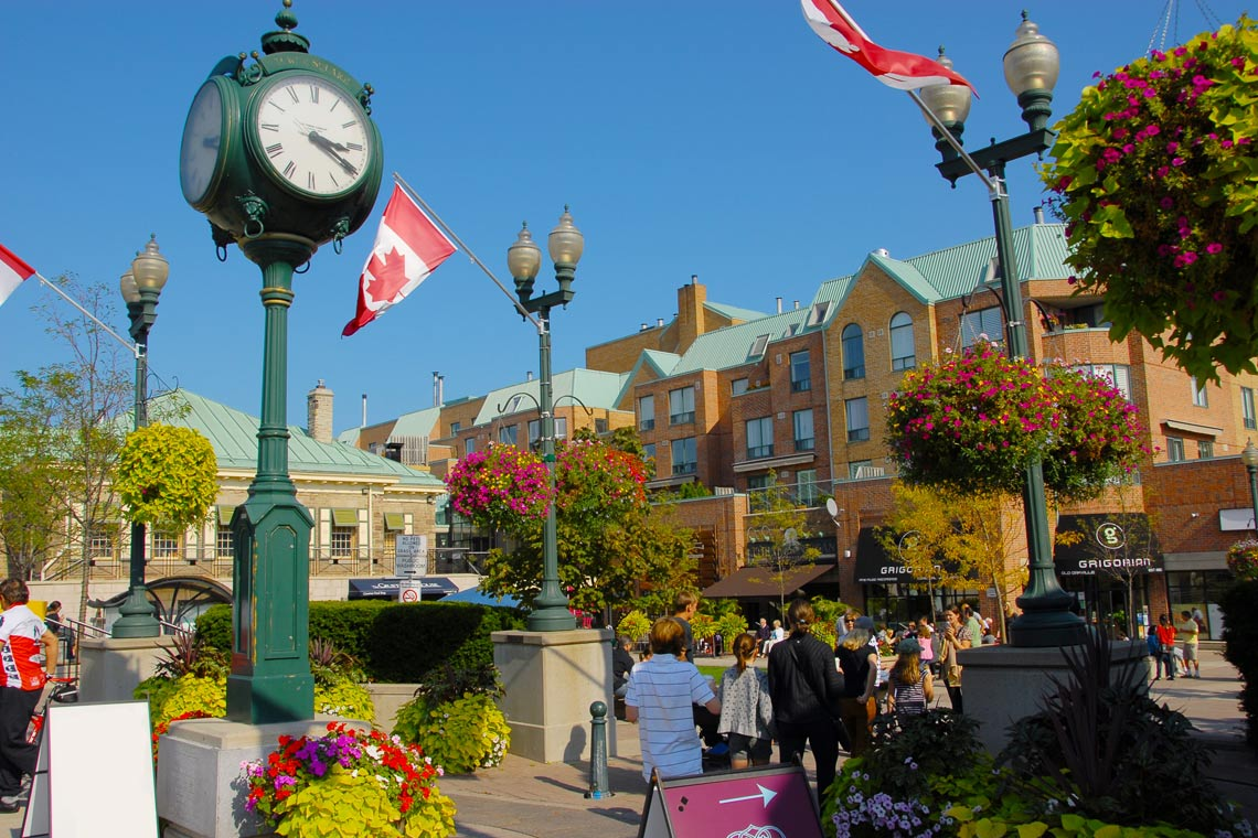 Image of Towne Square in Oakville.